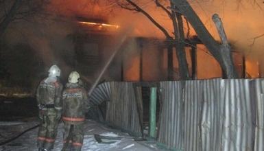Пожарные г. Зея ликвидировали возгорание садового домика