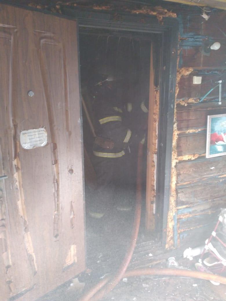 В Прогрессе ликвидировали возгорание в жилом доме