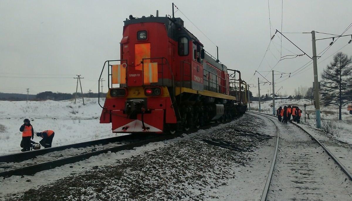 На железной дороге в Тындинском районе восстановлено движение поездов