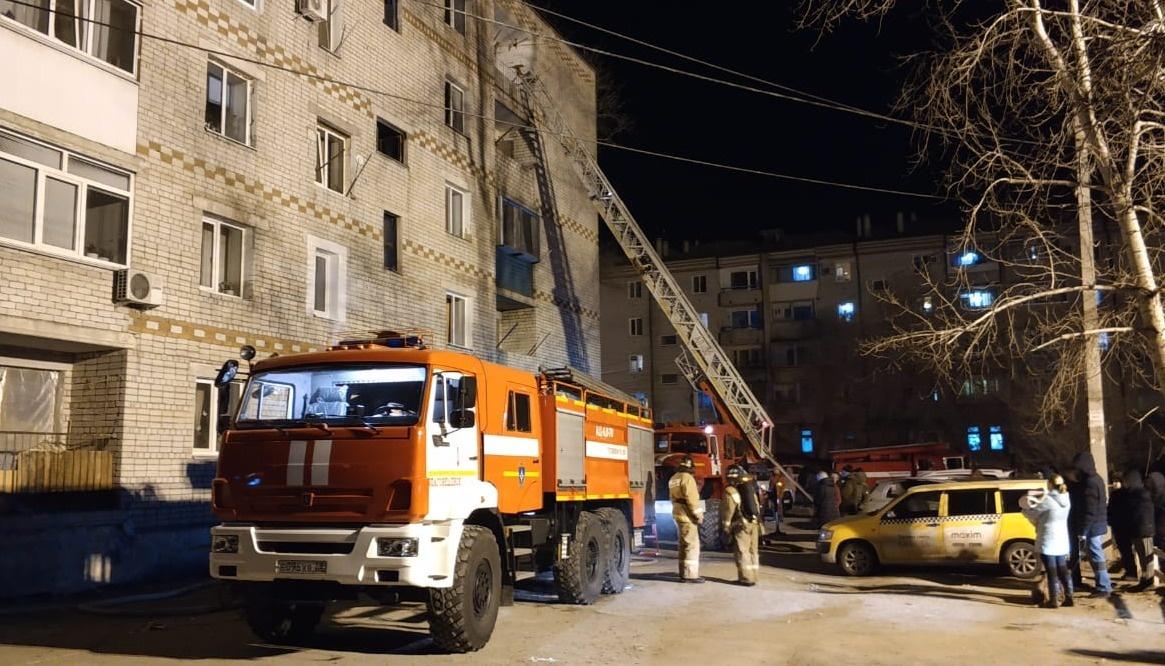 В Тынде пожарные ликвидировали возгорание в квартире