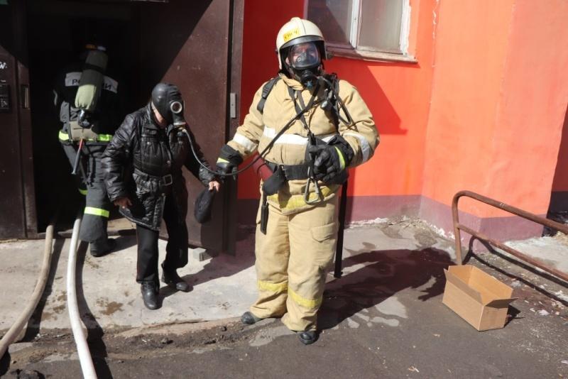 В Прогрессе ликвидировали возгорание в квартире