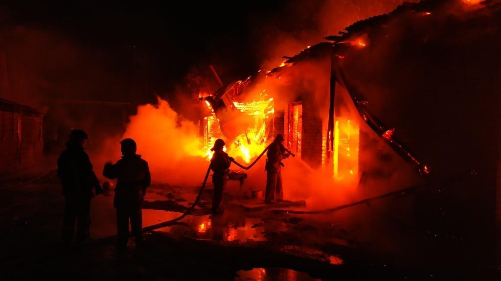 Зейские огнеборцы выезжали на тушение бани