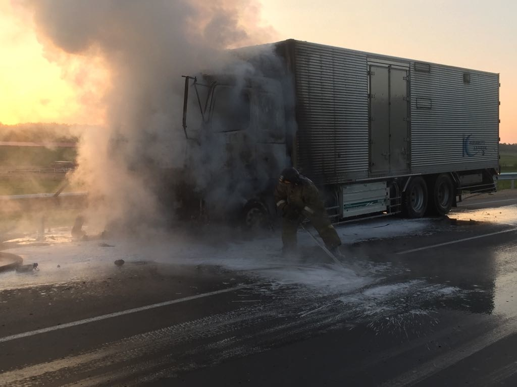 В Свободненском районе огнеборцы ликвидировали возгорание автомобиля