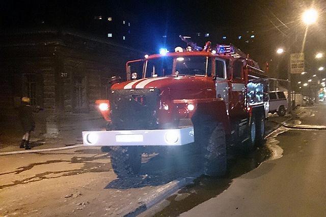 В Сковородинском районе тушили трансформаторную подстанцию