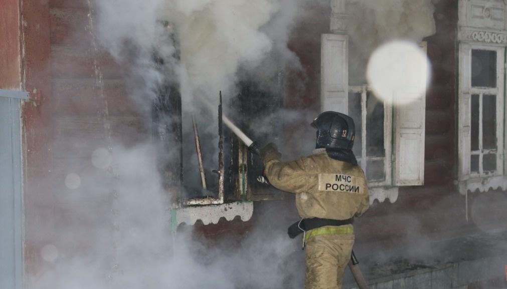 В Сковородино ликвидировали возгорание в жилом доме