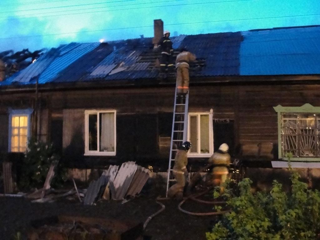 В Завитинском районе огнеборцы ликвидировали возгорание в жилом доме
