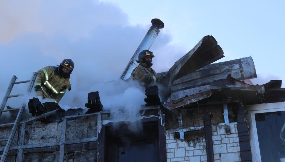 Зейские огнеборцы выезжали на тушение жилого дома